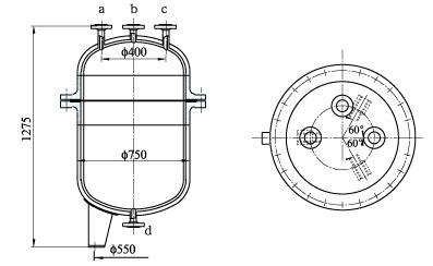 LS-1468型氯气逆止罐