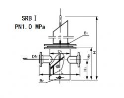 SRBⅠ直通平底篮式过滤器