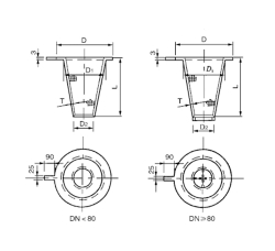 SRZⅡ平顶锥型过滤器 PN2.0~5.0,10.0MPa